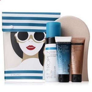 St Tropez Sunshine ready kit tanning set with bag